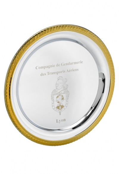 Assiette Métal Personnalisables - 183-11CLI