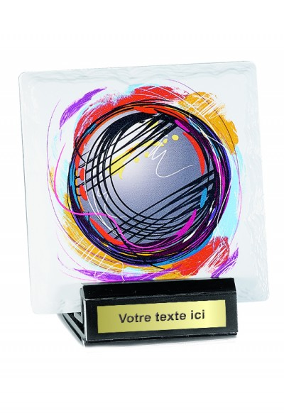 Trophées Céramique  Boules & Pétanque 45104