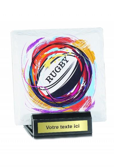 Trophées Céramique  Rugby 45105