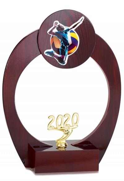 Trophée Bois Personnalisable 123-11