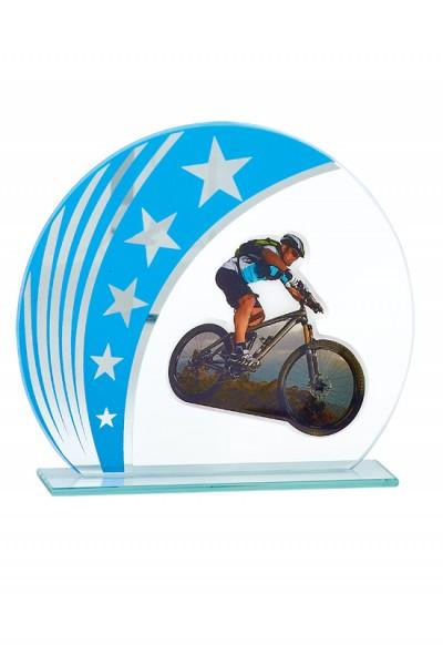 Trophée Verre Personnalisable 123-31