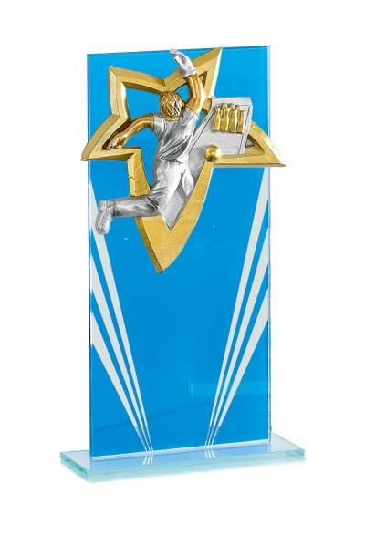 Trophée Verre Personnalisable 128-01
