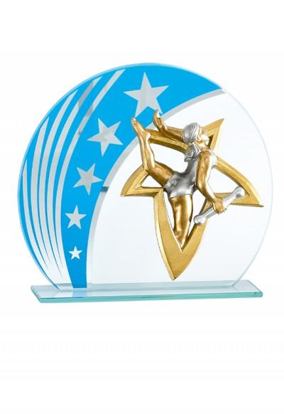 Trophée Verre Personnalisable 129-51