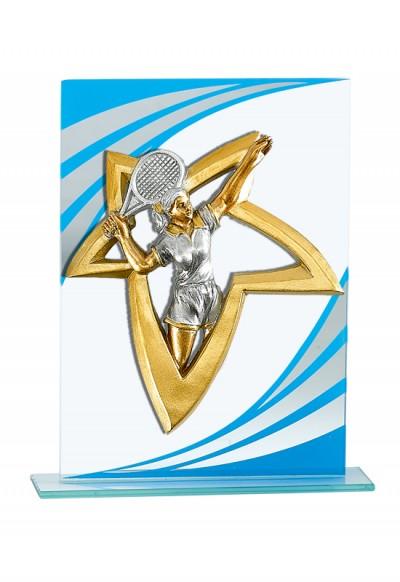 Trophée Verre Personnalisable 130-11
