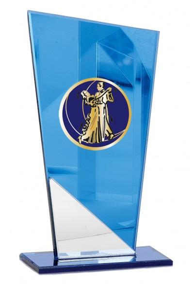 Trophée Verre Personnalisable 149-61