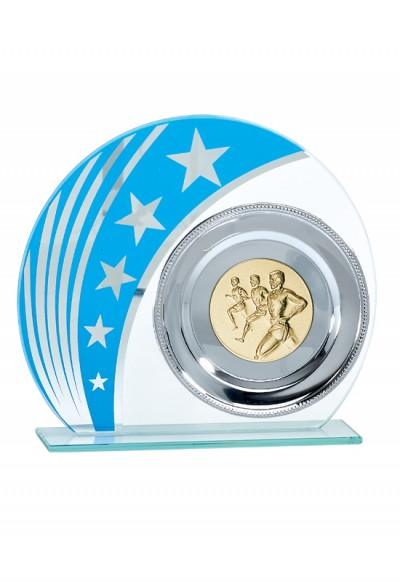 Trophée Verre Personnalisable 150-01