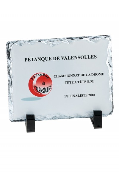 Trophée Verre Imprimable 154-01