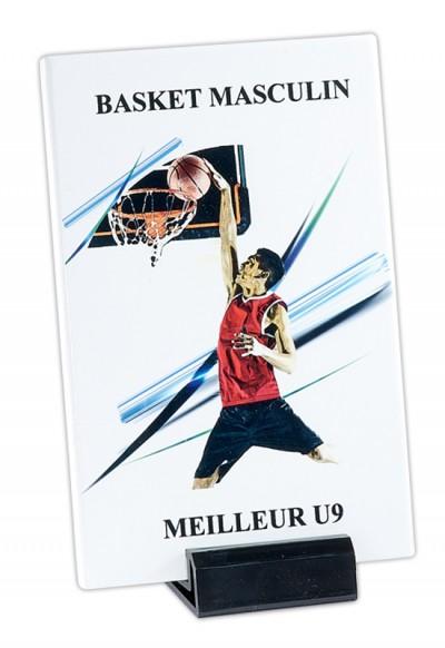 Trophée Verre Imprimable 154-21