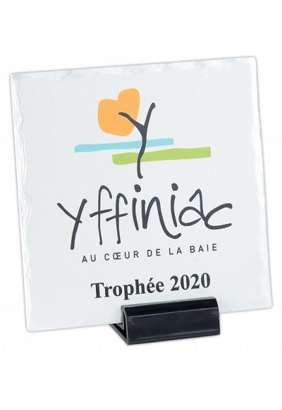 Trophée Verre Imprimable 154-31