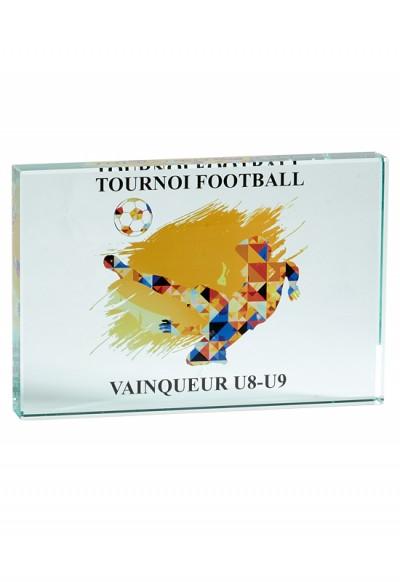 Trophée Verre Imprimable 155-21