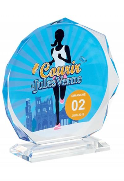 Trophée Acryglass Imprimable 160-01