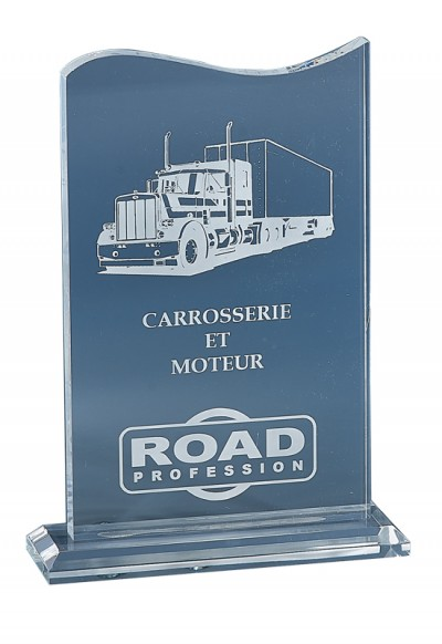 Trophée Acryglass Laserable 174-01