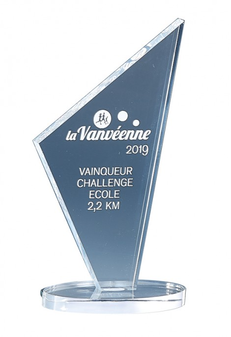 Trophée Acryglass Laserable 174-61