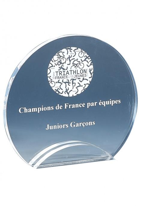 Trophée Acryglass Laserable 176-01