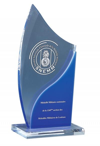 Trophée Acryglass Laserable 176-11