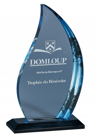 Trophée Acryglass Laserable 180-41