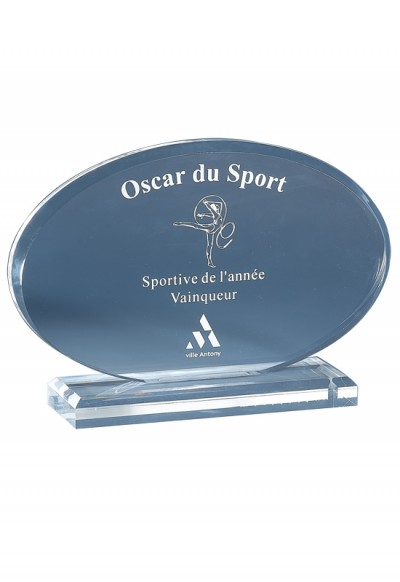 Trophée Acryglass Laserable 181-01