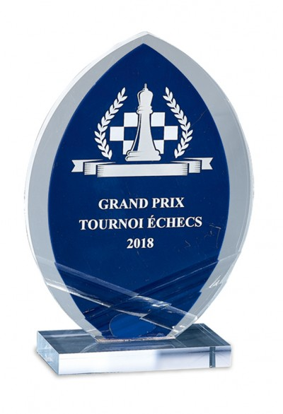 Trophée Acryglass Laserable 181-11