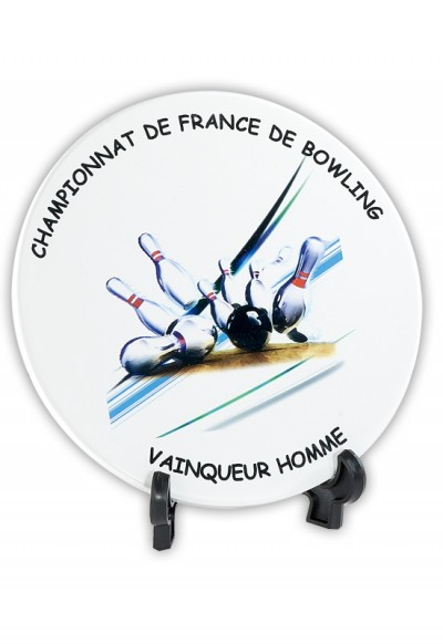 Trophée Verre Imprimable 154-11