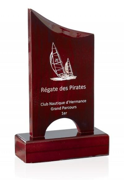 Trophée Bois Laserable 167-21