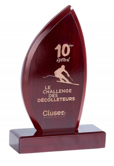 Trophée Bois Laserable 167-51