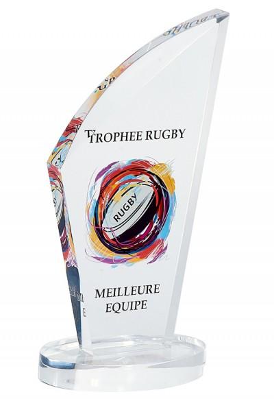 Trophée Verre Imprimable 159-31
