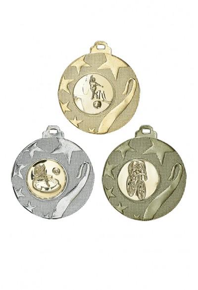 Médaille 40mm avec pastille - 055